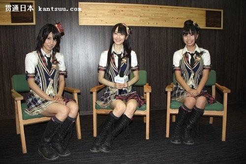 日本美少女组合ske48成员献唱世博――贯通日本娱乐