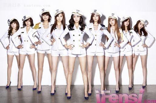 少女时代被选日本人气最高――贯通日本娱乐频道