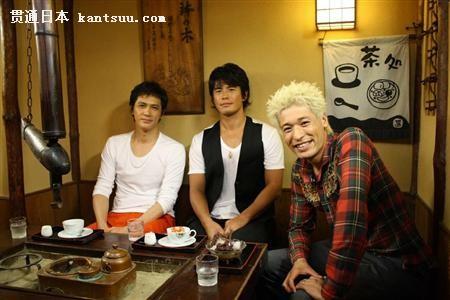伊藤英明老婆_《海猿》男性三人组出演富士电视台谈话节目——贯通日本娱乐
