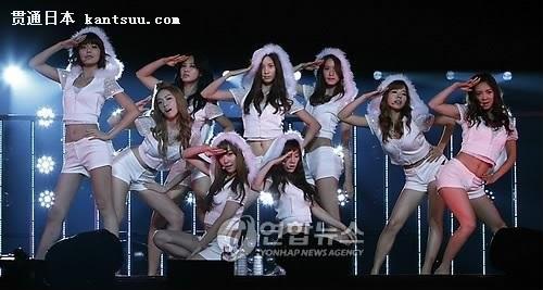 少女时代上个月25日在日本举办了第一次的演唱会