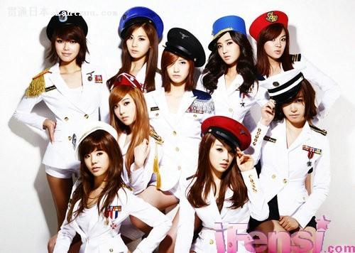 本月8号发售的少女时代日本出道单曲《genie》