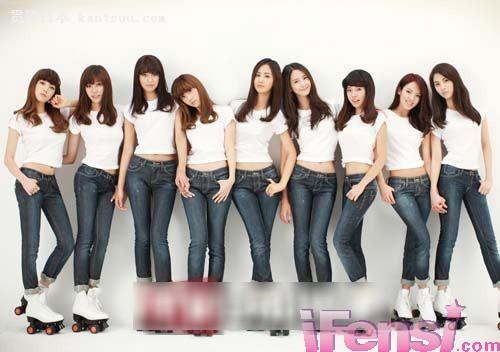 少女时代这一次将给粉丝们带来腿舞――贯通日本