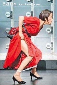上演湿身裸戏――贯通日本