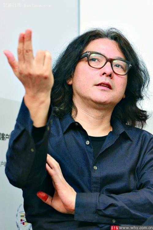 日本名导岩井俊二:拍电影要让自己心灵停止变老
