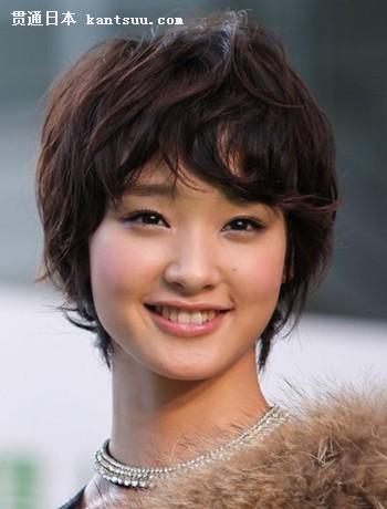 """日本""""十大适合短发的女星"""""""